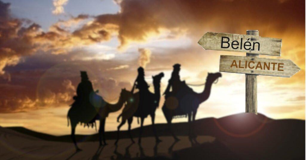 Reyes Magos hacia Alicante