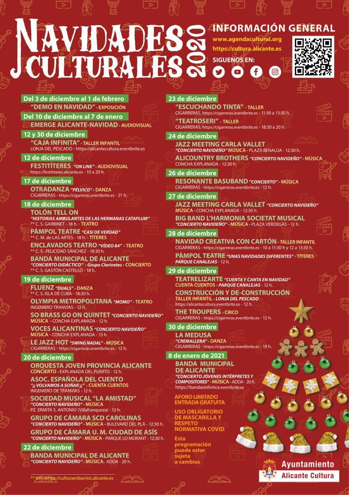 Navidades culturales Alicante